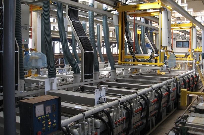 Quy trình xử lý nước thải ngành công nghiệp luyện kim, xi mạ